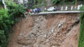 Landslides block J&K highway, 300 vehicles stranded