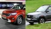 Kia Sonet vs Hyundai Venue: Specifications compared