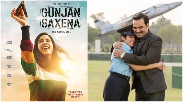 Gunjan Saxena Movie Review Pankaj Tripathi Helps Janhvi Kapoor Soar In An Inspiring Film Movies News