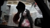 No fear of coronavirus at drive-through haunted house in Tokyo
