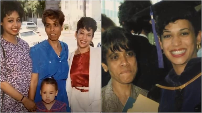 Kamala Harris S Sister Shares Old Video About Their Mom Shyamala She Is Smiling Today Trending News News