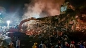 Maharashtra building collapse: 64-year-old searches for daughter, 3 grandkids