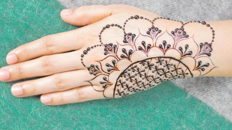 some easy designs of mehndi