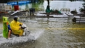 Mumbai Rains: City drenched in heavy rainfall ahead of Ganesh Chaturthi, high tide alert issued