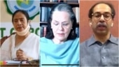 Sonia Gandhi meets 7 chief ministers, Mamata and Uddhav slam Centre over GST share, NEET, JEE exams