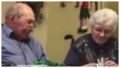 Elderly man surprises wife with new diamond ring after she loses hers. Old video goes viral