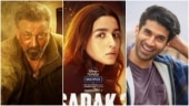 Sadak 2: New posters reveal first looks of Alia Bhatt, Sanjay Dutt and Aditya Roy Kapur