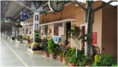 Tirur Railway Station in Kerala beautified with potted plants. Wonderful, says Internet
