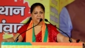Rajasthan crisis: Vasundhara Raje says she is unaware of developments, was busy in Dholpur