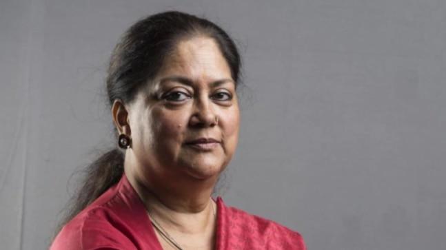 Former Rajasthan CM Vasundhara Raje leaves for Delhi even as political crisis grips state