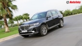 BMW X7 review, first drive