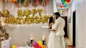 Charu Asopa and Rajeev Sen celebrate first wedding anniversary 3 months after. See pics