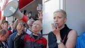 Belarusian protest leader Maria Kolesnikova detained by masked men: Tut.By news portal