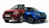 Kia Sonet vs Toyota Urban Cruiser: Prices compared