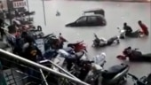 Rain batters Hyderabad: Roads flooded, vehicles washed away as heavy rainfall throws life out of gear