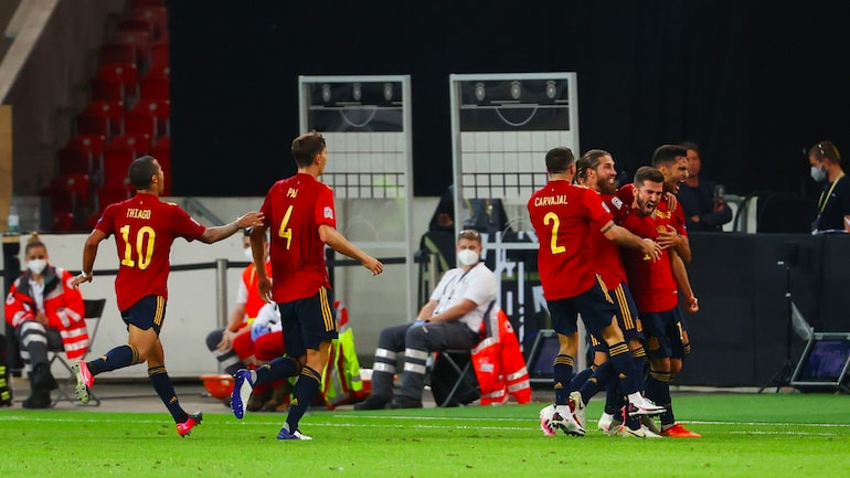 Spain Score Last Gasp Goal To Draw 1 1 Vs Germany In 1st International Friendly In 10 Months Sports News