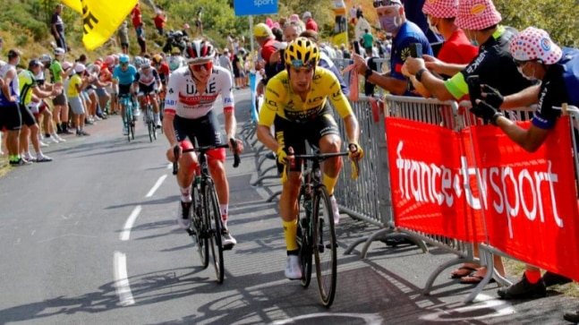 Tour de France 2020: Ice-cool Primoz Roglic strengthens lead, exhausted Egan Bernal fades