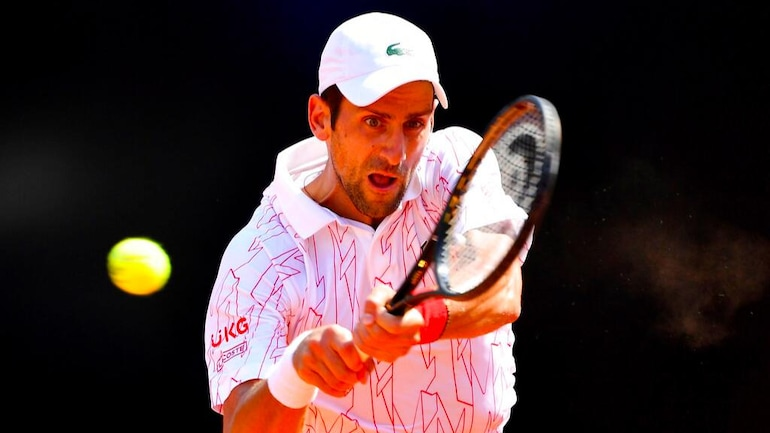 Novak Djokovic Back To Winning Ways In Rome After Us Open 2020 Disqualification Sports News