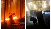 Underwater and on fire: US climate change magnifies extremes
