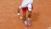 That's just me: Novak Djokovic loses cool again, breaks racket en route his quarter-final win at Italian Open