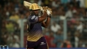 IPL 2020: Kolkata Knight Riders star Andre Russell muscles a shot during net session, demolishes camera