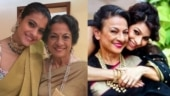Kajol and Tanishaa wish mom Tanuja on 77th birthday: When I'm with you I'm standing with an army