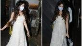 Janhvi Kapoor looks elegant in Anita Dongre maxi dress