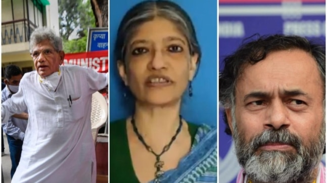 Delhi riots: Police names Yechury, Yogendra Yadav, economist Jayati Ghosh in supplementary chargesheet