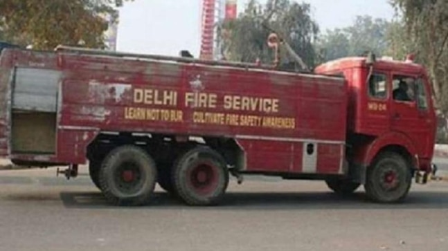 Fire breaks out at plastic factory in Delhi's Inderlok