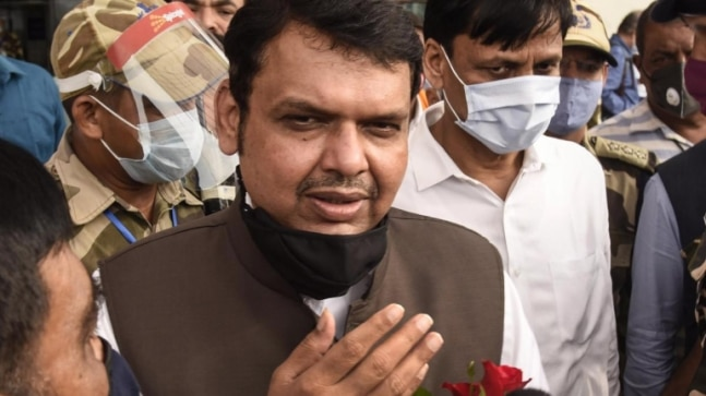 Attack on retd Naval officer 'state-sponsored terrorism', says Devendra Fadnavis