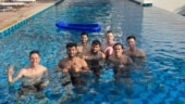 IPL 2020: Fans curious after spotting Arjun Tendulkar with Mumbai Indians players in UAE