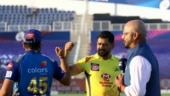 IPL 2020: MS Dhoni, Rohit Sharma greet each other following social distancing rules in MI vs CSK