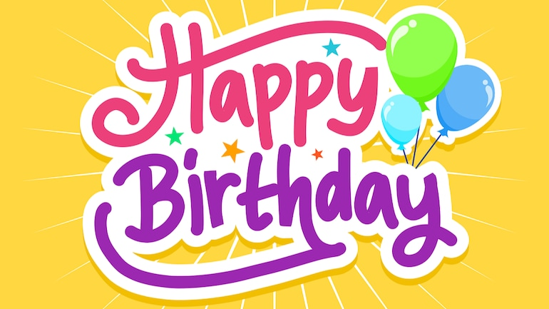 Happy Birthday Images To Wish Your Friends And Family Information News