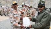ITBP DG visits Ladakh, honours 291 personnel for gallantary during India-China clash in Galwan