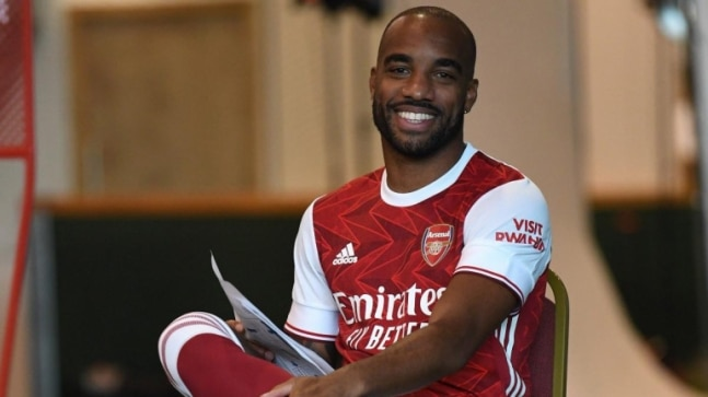 Premier League: Arsenal have big ambitions this season, says striker Alexandre Lacazette after first win