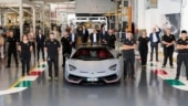 Lamborghini celebrates 10,000th Aventador