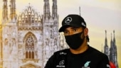 Formula One: Mercedes driver Lewis Hamilton wears 'arrest the cops' T-shirt ahead of Tuscan Grand Prix