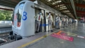 Delhi Metro services resume on Blue & Pink Lines after Covid hiatus | Pictures