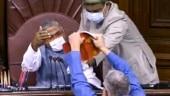 Venkaiah Naidu suspends 8 unruly MPs including TMC's Derek O'Brien, AAP's Sanjay Singh