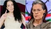 Your govt harassing women, aren't you anguished, Kangana Ranaut attacks Sonia Gandhi