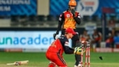 IPL 2020: Rashid Khan accidently clashes with Abhishek Sharma, gets injured but continues to bat for SRH