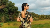 Sara Ali Khan shows how to rock camouflage mini T-shirt dress. We are taking notes