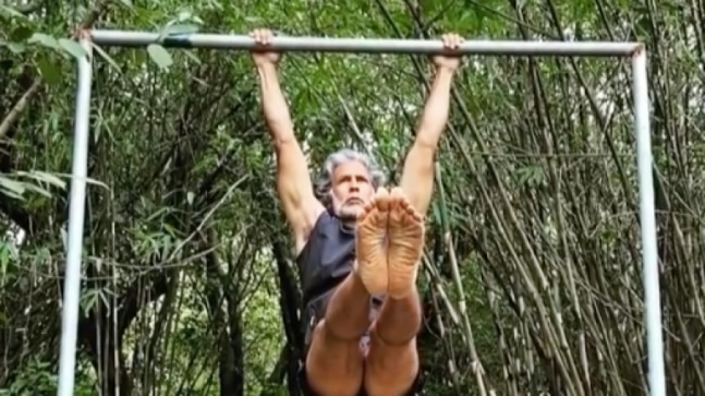 <div>Milind Soman's Wednesday Workout post is all about gradual improvement. See it here</div>