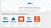 Paytm app removed from Google Play Store for hours, now back