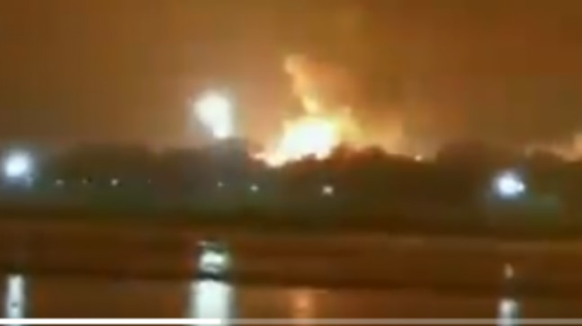Massive fire breaks out at ONGC plant in Surat  - India Today RSS Feed  IMAGES, GIF, ANIMATED GIF, WALLPAPER, STICKER FOR WHATSAPP & FACEBOOK