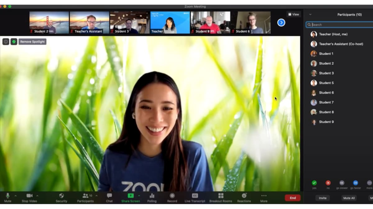 Zoom introduces features to pin and spotlight multiple videos ...
