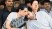 Sonia Gandhi returns from US with Rahul after medical check-up