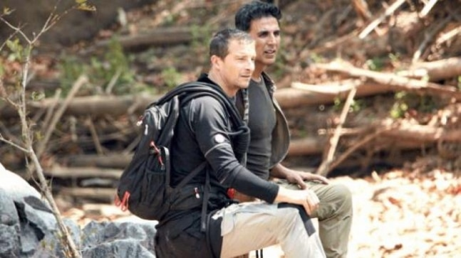 Into The Wild With Bear Grylls and Akshay Kumar: A piece of cake for International Khiladi