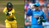Alyssa Healy breaks MS Dhoni's wicketkeeping record in T20Is