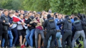 Hackers leak personal data of 1,000 Belarusian police on weekend of protests